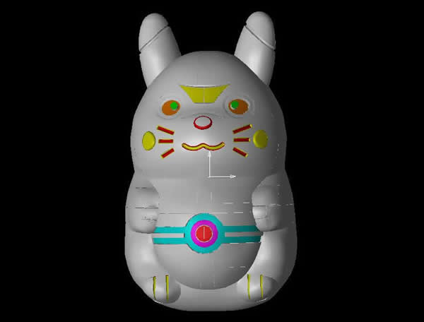 猫咪果冻模具
