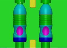 矿泉水瓶模具设计图