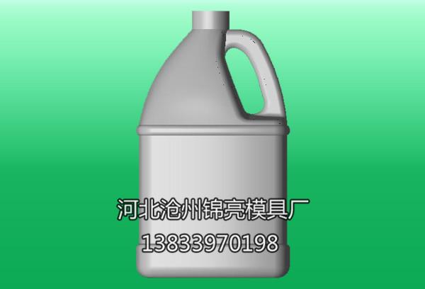 机油瓶模具三维图